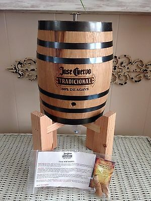 NEW Jose Cuervo Tradicional Tequila Infusion Barrel and Stand