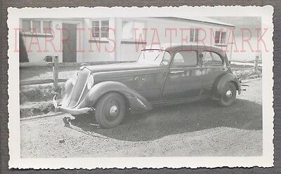 Vintage Car Photo 1935 Hupmobile Aerodynamic Automobile 771150