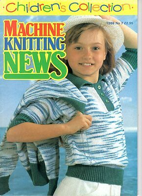 Children's Collection Of  Machine Knitting Patterns No. 7