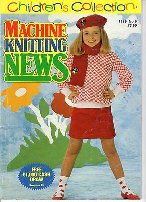 Children's Collection Of  Machine Knitting Patterns No. 9