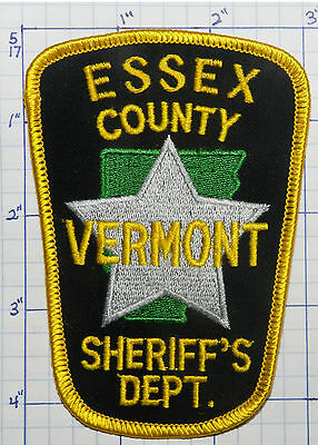 Vermont, Essex County Sheriff's Dept Patch