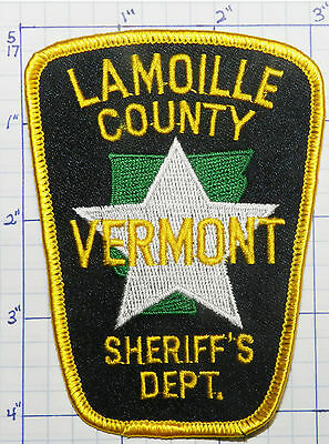 Vermont, Lamoille County Sheriff's Dept Patch