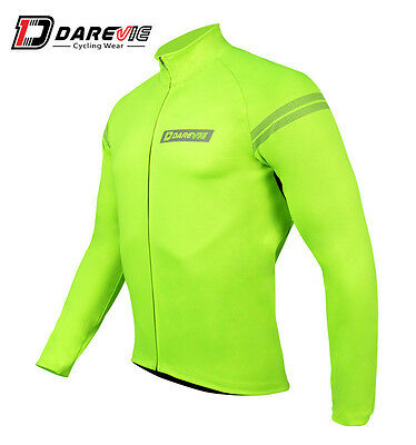 Windproof Waterproof Mens Hi-Vis Thermal Jacket Race Fit DVJ040