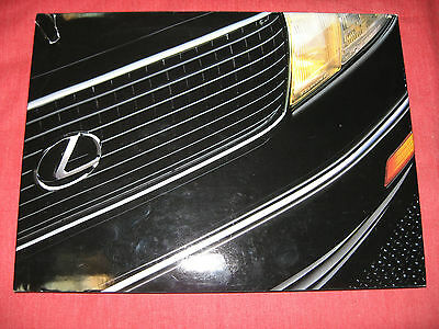 LS 400 The Lexus Story -  published by Lexus for dealers and suppliers