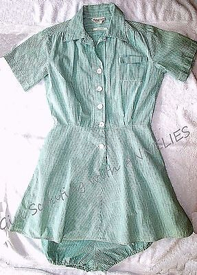 RARE 1940s Girl Scout Camp Uniform DRESS BLOOMERS Halloween Costume