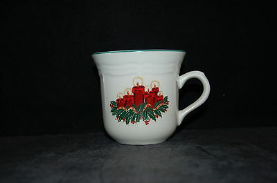 GEI Red Green Holiday Candles Cup