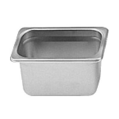 """1 PC Stainless Steel Anti-Jam 1/9 Size 4"""" Deep Steam Table Food Pan NSF NEW"""