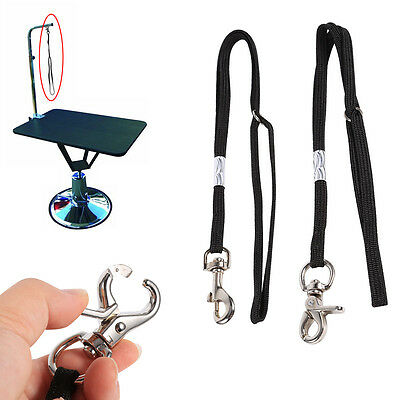 Pet Supply Dog Cat Grooming Table Arm Tub Bath Restraint Rope Harness Noose Loop