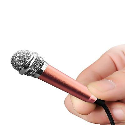3.5mm Clip On Mini Lapel Mini Microphone For Mobile Phone Sing song