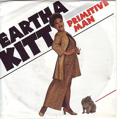"""7"" - EARTHA KITT - Primitive Man"
