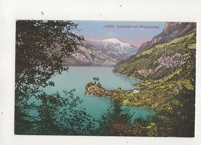 Iseltwald Am Brienzersee Switzerland [4766] Vintage Postcard 323b