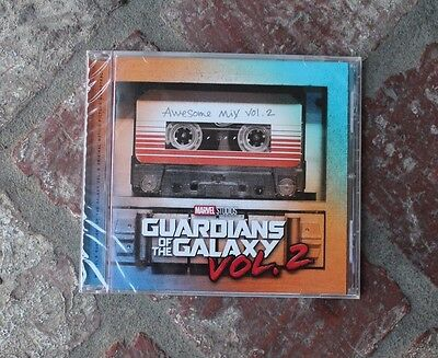 Guardians of the Galaxy Awesome Mix Vol. 2 CD Soundtrack Music Disney Parks NEW