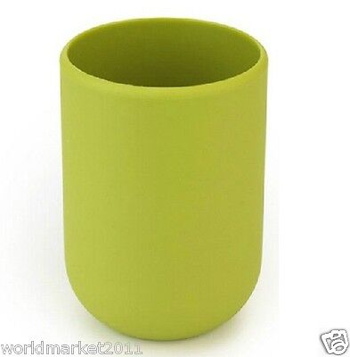 Polyresin Diameter7CM*Height9.5CM Wash Supplies Gargle Cup Tooth Mug Green
