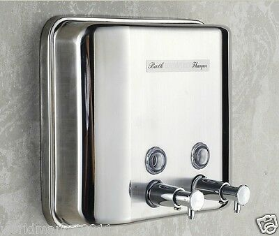 Stainless Steel 1500ML Manual Induction Soap Dispenser Hand Sanitizer Machine