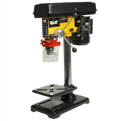 9 Speed Pillar Drill 16mm Chuck 500w Motor Press Bench Top Mounted Drilling