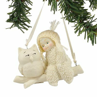 Snowbabies Wise Advice Hanging Ornament NEW in Gift Box - 25479