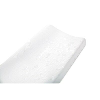 aden by aden + anais white changing pad cover