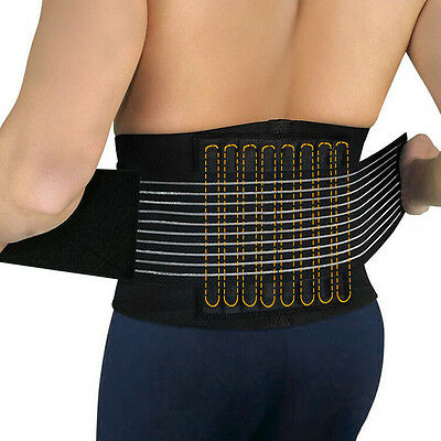 AOLIKES WEIGHT LIFTING SUPPORT GYM Strength TRAINING BELT weightlift UK