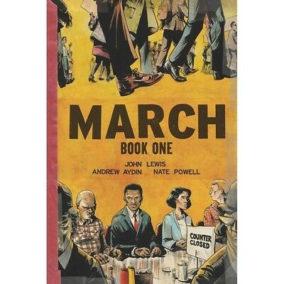 March Oversized: Book 1 Limited Edition Hardcover - Brand New!