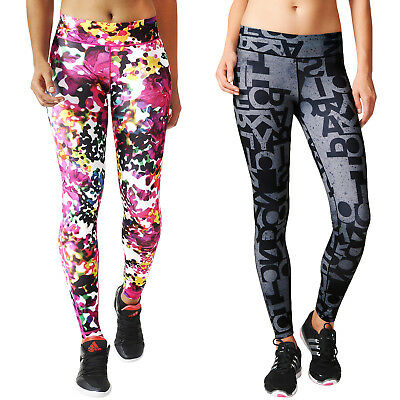 adidas Performance Womens Ultimate Fit Sports Training Gym Bottoms Long Tights