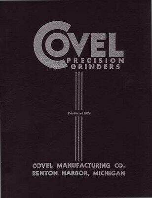 Covel 7B Hand Feed Grinder Manual