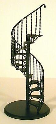 Dolls House Spiral Staircase Kit Metal 1:12 Scale Miniature Stairs