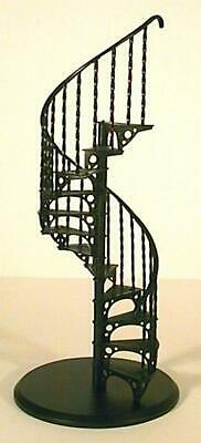 Melody Jane Dolls Houses Miniature 1:12 Spiral Staircase Metal Stairs