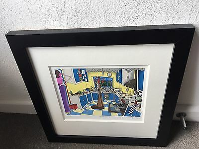 Dylan Izaak 'In The Kitchen' Limited Edition genuine rare authenticated print