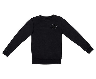 St Goliath Youth Ashton Crew Fleece - Black