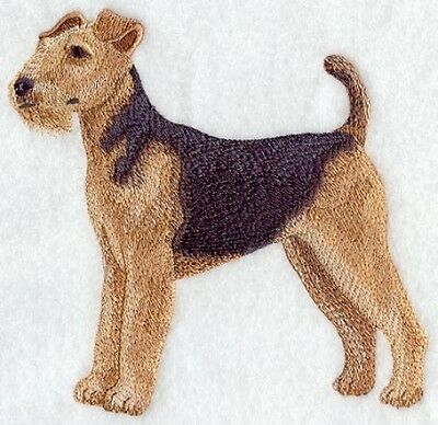 Embroidered Short-Sleeved T-shirt - Airedale Terrier C2665 Sizes S - XXL