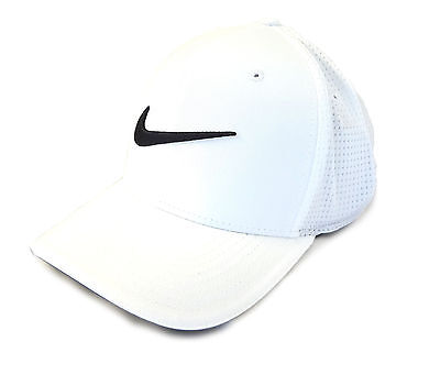 NEW Nike Classic 99 Mesh White/Black Fitted L/XL Hat/Cap