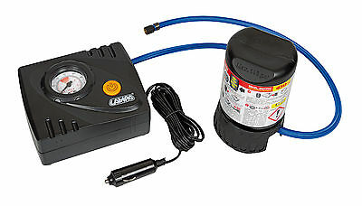 Pump-Jet & Fix Basic, Kit Riparazione Pneumatici, 12V Lampa