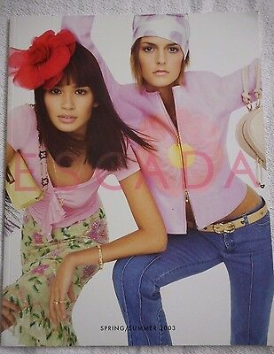 ESCADA Vintage 2003 Fashion Catalog Book Advertising Marketing Spring Summer