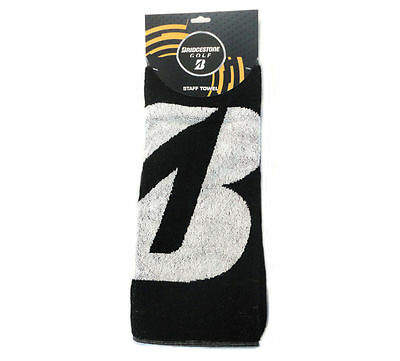 NEW Bridgestone Golf Staff Towel Black/White 16'x32'