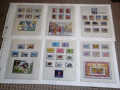 Jersey-2002-Compl Years Commem Sets+4 Min Shts + £3 +£2 Values -All Unm Mint-Mnh