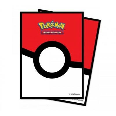 Ultra Pro Pokemon Pokeball Deck Protectors 65 Sleeves - Brand New!