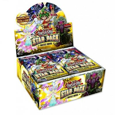 Yu-Gi-Oh! TCG Star Pack: Battle Royal Booster Box (50 Packs) - Brand New!