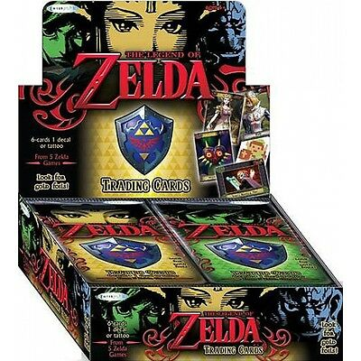 Legend of Zelda Trading Card Booster Box - 24 Packs - Brand New!