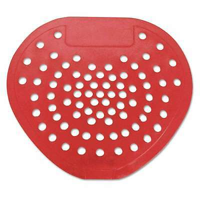 "HOSPECO® Health Gards Vinyl Urinal Screen, 7 3/4""w x 6 7/8""h, Red 075289039010"