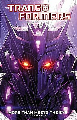 Transformers: More Than Meets The Eye Volume 2 (Transformers (Idw)) NEW BOOK