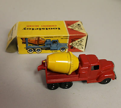 Antique Tootsie Toy Cement Mixer Toy Truck in the Box