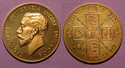 1910 King George V Pattern Double-Florin