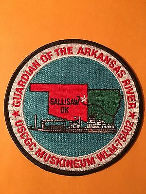 United States Coast Guard Guardian Of The Arkansas River  Shoulder Patch