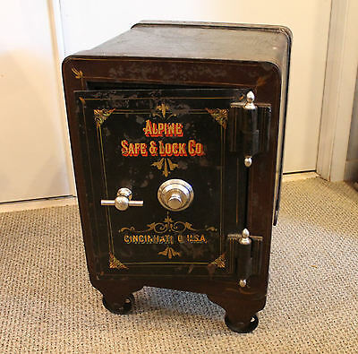 Iron Apline Safe & Lock Company Antique Safe – Working Combination