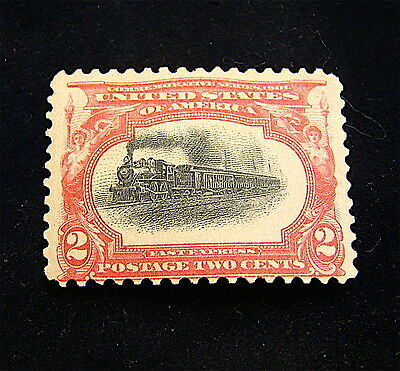 U.S. Stamp Scott #295 2 Cent Pan-American 1901 --OG--Hinged--ERROR Stamp