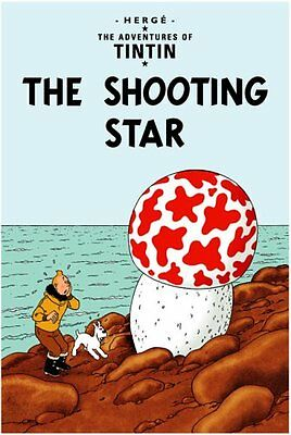 The Shooting Star (The Adventures of Tintin) New Hardcover Book Herge
