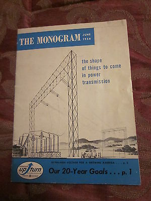 The Monogram General Electric Monthly Bulletin  June 1958