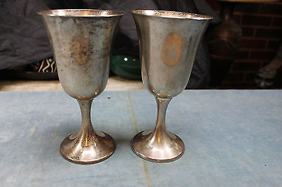 Gorham Sterling Silver #272 Water Wine Goblet Stem No Monogram Buy 1 But 2 Avail