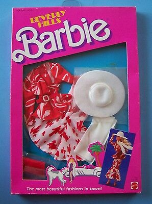 "1987 BEVERLY HILLS FASHION Coll #3310 for Barbie & all 11 1/2"""" dolls NRFB"