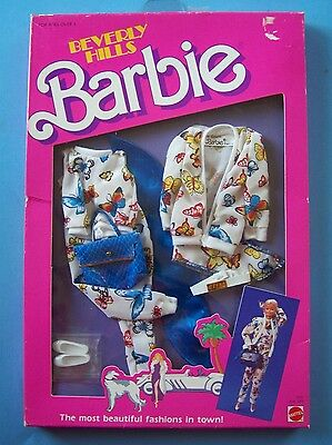 "1987 BEVERLY HILLS FASHION Coll #3313 for Barbie & all 11 1/2"""" dolls NRFB"